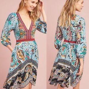 Anthropologie Akemi + Kin Beaded Karmina Dress